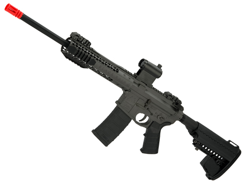 Black Rain Ordnance BRO M4 SPEC15 Airsoft AEG by King Arms (Color: Urban / Gray)