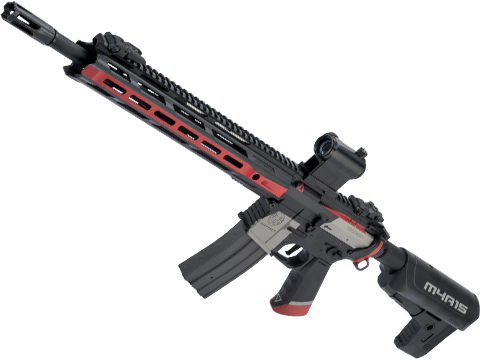 Krytac Full Metal Trident MKII-M SPR Airsoft AEG Rifle w/ Black Sheep Arms Custom Cerakote (Color: Cyrex)