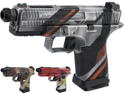 EMG Salient Arms International BLU Compact Airsoft Training Weapon w/ Black Sheep Arms Custom Cerakote