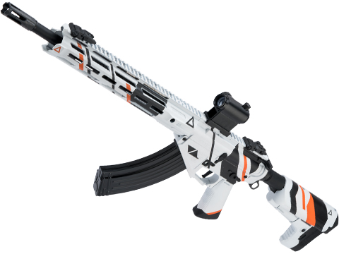 Krytac Full Metal Trident 47 SPR Airsoft AEG Rifle w/ Black Sheep Arms Custom Cerakote (Color: Asiimov)