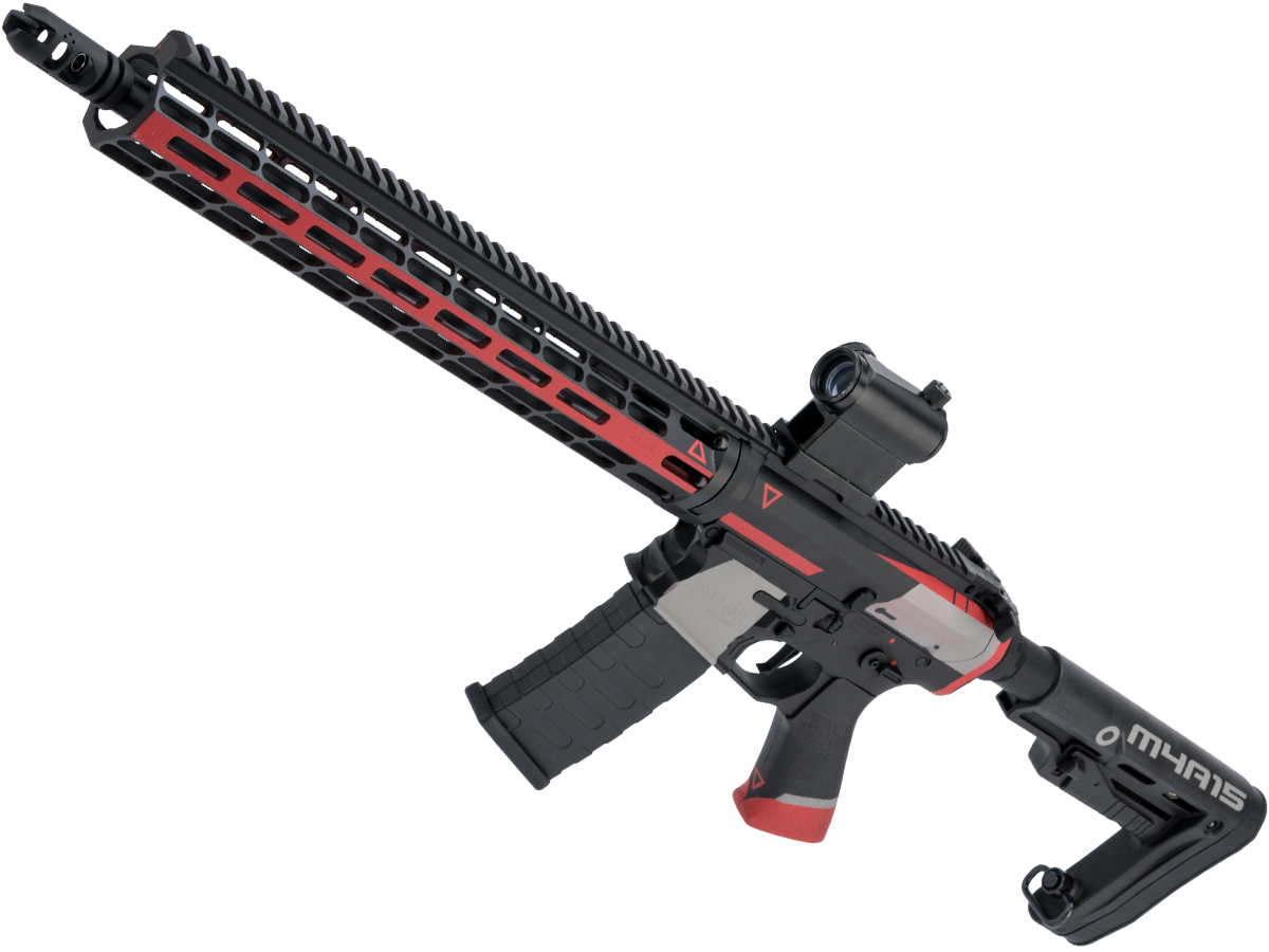 EMG Falkor AR-15 RECCE Training Weapon M4 Airsoft AEG Rifle w/ Black Sheep Arms Custom Cerakote (Color: Cyrex)