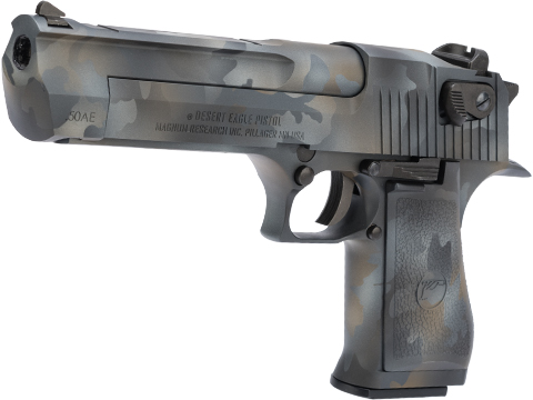 WE-Tech Desert Eagle .50 AE GBB Airsoft Pistol by Cybergun w/ Black Sheep Arms Custom Cerakote (Color: Southern Lights)