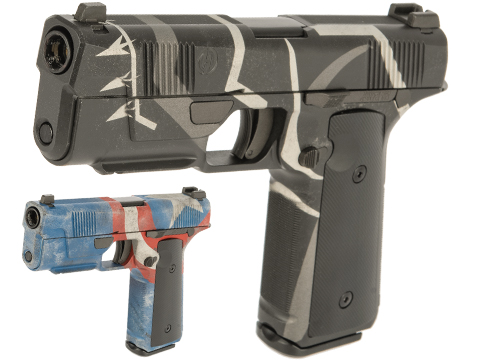 EMG / Hudson™ H9 Gas Blowback Airsoft Parallel Training Pistol w/ Black Sheep Arms Custom Cerakote