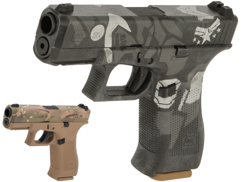 Elite Force Fully Licensed GLOCK 19X Gas Blowback Airsoft Pistol w/ Black Sheep Arms Custom Cerakote