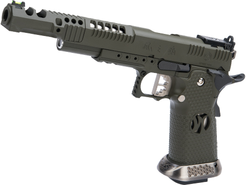 AW Custom HX24 Wind Velocity IPSC Gas Blowback Airsoft Pistol w/ Black Sheep Arms Custom Cerakote
