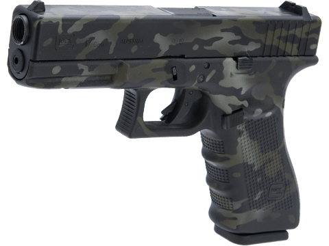 Elite Force Fully Licensed GLOCK 17 Gen.4 Gas Blowback Airsoft Pistol w/ Black Sheep Arms Custom Cerakote (Color: Multicam Black)