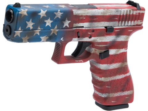 Elite Force Fully Licensed GLOCK 17 Gen.4 Gas Blowback Airsoft Pistol w/ Black Sheep Arms Custom Cerakote