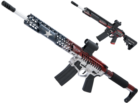 EMG F-1 Firearms BDR-15 3G AR15 Full Metal Airsoft AEG Training Rifle w/ Black Sheep Arms Custom Cerakote
