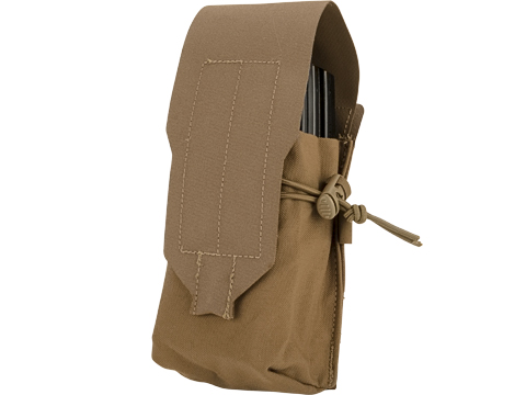 Blue Force Gear Ten-Speed Single Stack Double M4 Mag Pouch (Color: Coyote Brown)