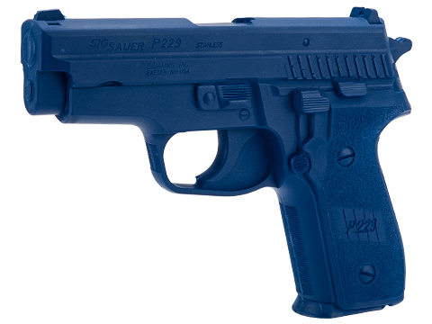 Rings Manufacturing Blue Guns Inert Polymer Training Pistol (Pistol: SIG P229)