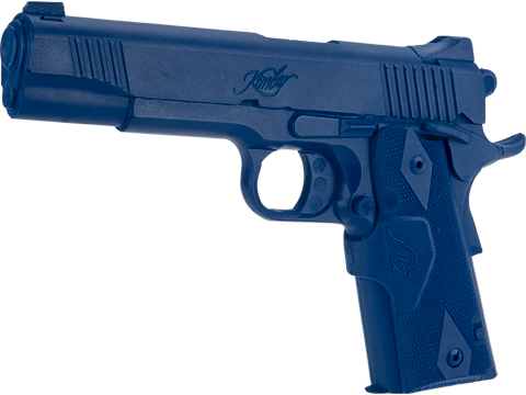 Rings Manufacturing Blue Guns Inert Polymer Training Pistol (Pistol: Kimber Custom Crimson Carry II)