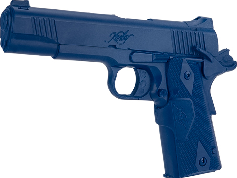 Rings Manufacturing Blue Guns Inert Polymer Training Pistol (Pistol: Kimber Custom Crimson Carry II Cocked)