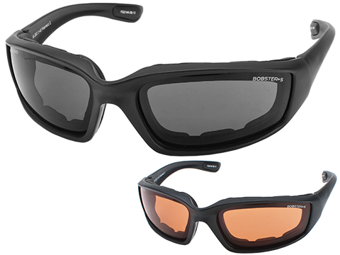 Bobster Foamerz II Shooting Sunglasses (Color: Black / Smoke)