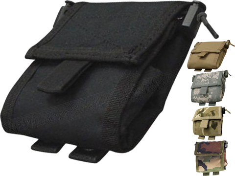 Condor MOLLE Roll-Up Utility / Dump Pouch (Color: Black)