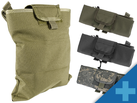 Black Owl Gear / Phantom Gear Dump Pouch w/ Lid (Color: Tan)