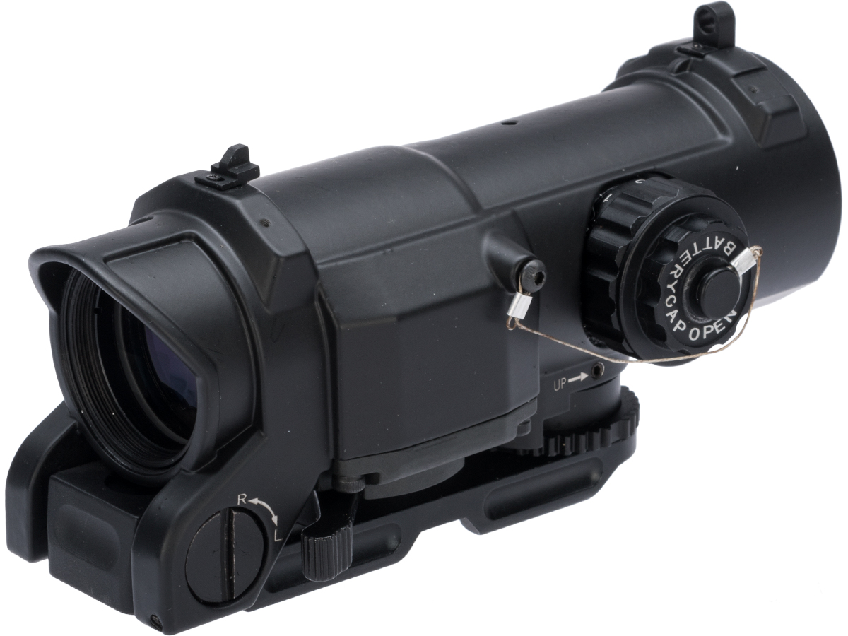 Black Owl Gear Advanced 1-4X Illuminated Reticle Rifle Scope