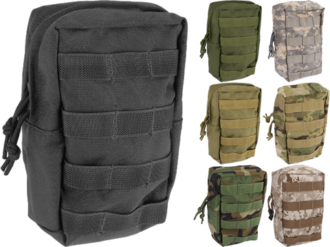 Phantom Gear 9 Large MOLLE Ready Utility / EMT Pouch - (Color: Tan)