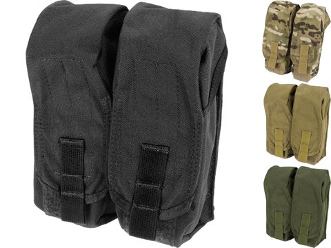 Black Owl Gear / Phantom MOLLE AK M4 G36C Dual-Double Magazine Pouch