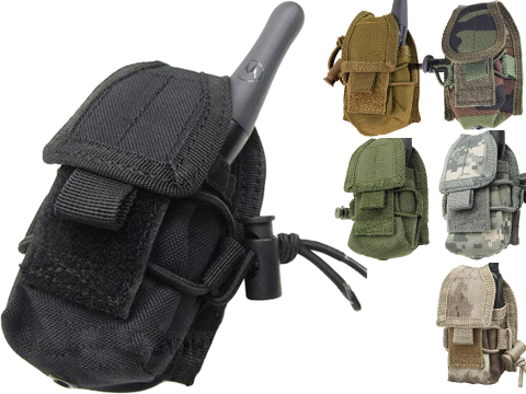 MOLLE Multi-Purpose Handheld FRS Radio MOLLE Pouch (Color: Coyote Brown)
