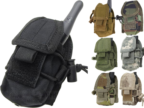 Condor MOLLE Multi-Purpose Handheld FRS Radio MOLLE Pouch (Color: Coyote Brown)