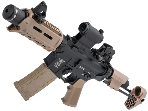 BOLT B4 PDW M4 Airsoft AEG Rifle (Color: Tan / Short Suppressor)