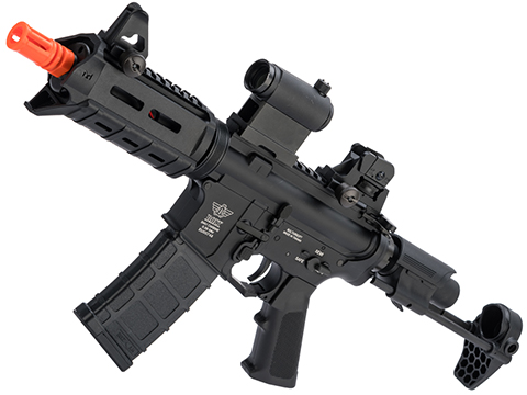 BOLT B4 PDW B.R.S.S. Recoil EBB Airsoft AEG Rifle (Color: Black / Standard Recoil)