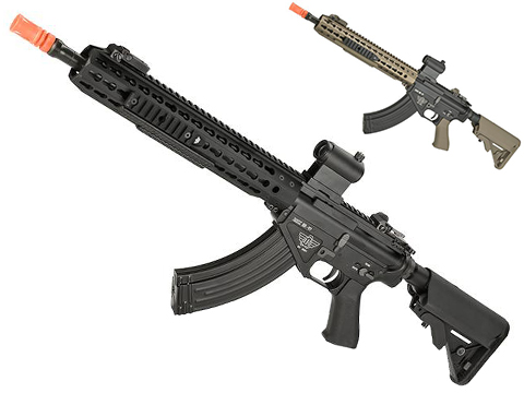 BOLT Airsoft BR-47 13 KeyMod QDC B.R.S.S. Full Metal EBB Airsoft AEG Rifle