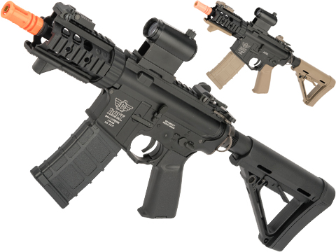 BOLT M4 PMC B.R.S.S. High Cycle Full Metal Recoil EBB Airsoft AEG Rifle