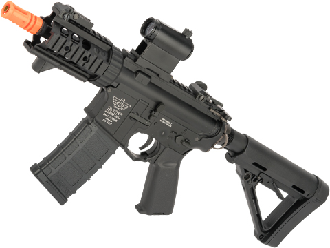 BOLT M4 PMC B.R.S.S. High Cycle Full Metal Recoil EBB Airsoft AEG Rifle (Color: Black)