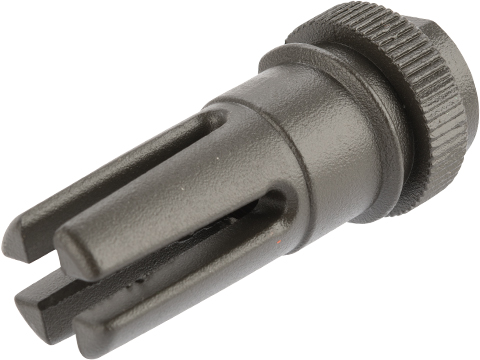 BOLT Airsoft DEVGRU Quick Detach Flash Hider (Model: 14mm Negative)