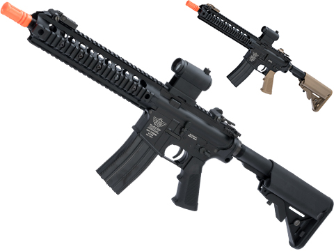 BOLT Airsoft Knights Armament Licensed SR-16 URX-2 B.R.S.S. EBB Airsoft AEG Rifle