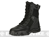 Rothco 5053 8 Forced Entry Side Zip Tactical Boots - Black (Size: 12)
