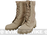 Rothco G.I. Type Desert Sierra Sole Speedlace Jungle Boots (Tan) - Size: 4
