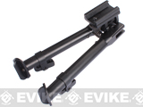 AIM Sports Compact Bipod with Height Adjustment for RIS