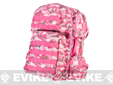 NcSTAR Tactical Assault Pack / MOLLE Backpack (Color: Pink Camo)