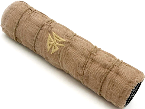 Burn Proof Gear Rifle Caliber Heavy Suppressor Cover (Color: Flat Dark Earth / 1.5 Dia / 6 )