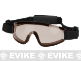 Bravo Tactical LP Low Profile Airsoft Gaming Sports Goggles (Color: Brown Lens)