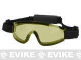 Bravo Tactical LP Low Profile Airsoft Gaming Sports Goggles (Color: Yellow Lens)