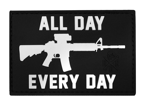 Black Rifle Division AR15 All Day Every Day PVC Morale Patch