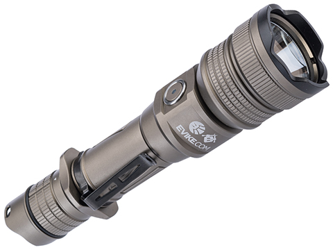 Evike.com Exclusive Brinyte PT18 Pro Oathkeeper Handheld Tactical Flashlight (Color: Tan)