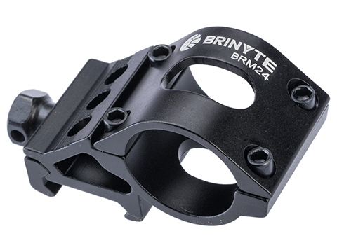Brinyte BRM24 Flashlight and Laser Mount for Barrels and Weaver Rails