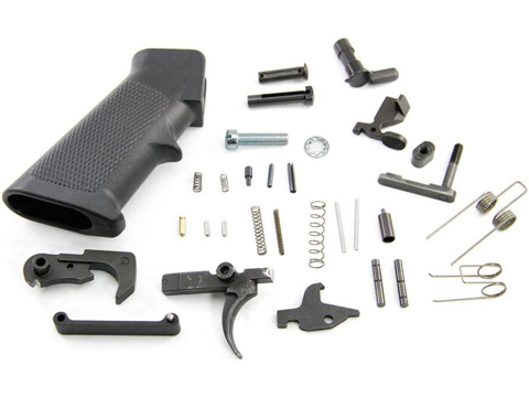 Black Rain Ordnance Lower Parts Kit for AR15 Rifles (Type: GI Style)