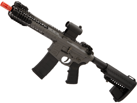 EMG Black Rain Ordnance BRO SPEC15 Licensed AR-15 Airsoft AEG Rifle (Color: Grey / Shorty)