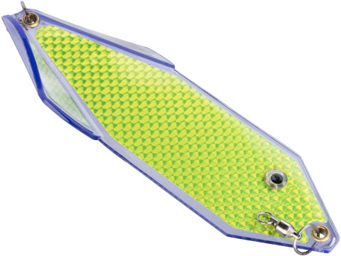 Pro-Troll SpinRay Flasher 8 Fishing Lure (Color: UV Blade w/ Chartreuse Tape)