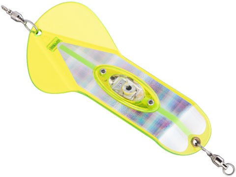 Pro-Troll ProFlash Profin 6 Flasher Fishing Lure (Color: Chartreuse Plaid)