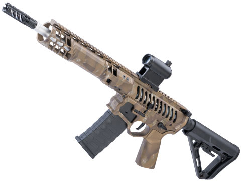 EMG F-1 Firearms SBR Airsoft AEG Training Rifle w/ Black Sheep Arms Custom Cerakote (Model: Brush Tiger)
