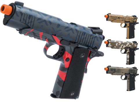 Elite Force Full Metal 1911 Tactical CO2 Airsoft Gas Blowback Pistol Umarex KWC w/ Black Sheep Arms Custom Cerakote