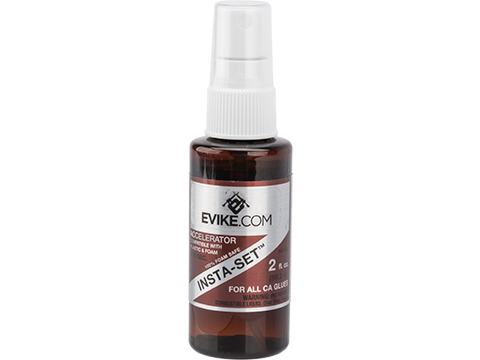 Evike.com INSTA-SET Superglue Accelerator Spray (Size: 2 fl. oz)