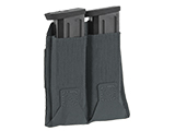 Blue Force Gear Belt-Mounted Ten-Speed®  Double Pistol Magazine Pouch (Color: Wolf Gray)