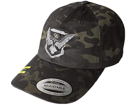 Bunker Branding Co. Demolition Ranch Demo Eagle Emblem Trucker Hat (Color: Black Multicam)